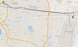 Motor way 7 to Suvarnabhumi BKK International airport